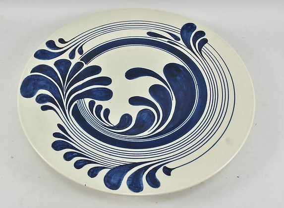 Rosenthal Ceramic Wall Plate, Hand-Painted
