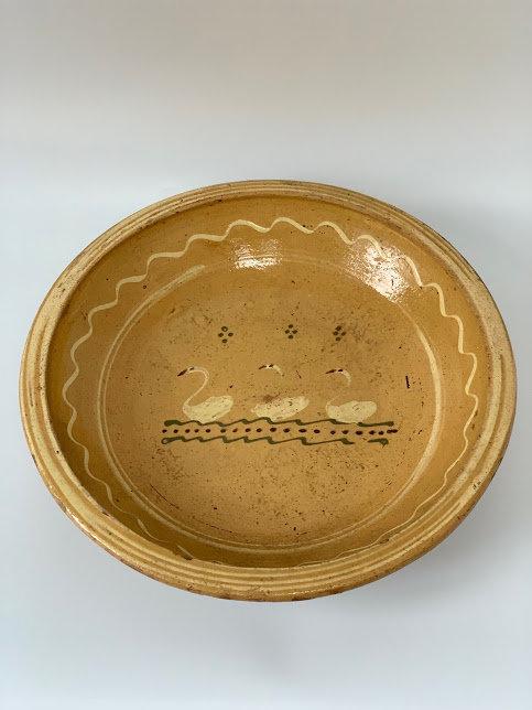 Large Ceramic German Bowl