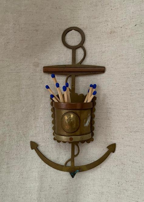 Brass Anchor Wall Pocket