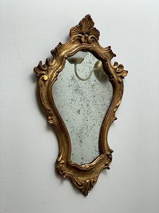 Antique Gilded Italian Mirror