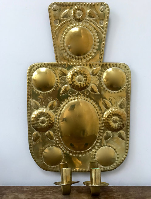 Baroque Style Wall Sconce from the Netherlands