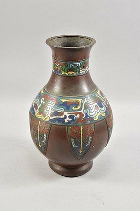 Antique Chinese Cloisonné Vase