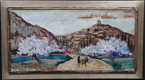 Framed Oil Canvas, by Bertil Wahleberg
