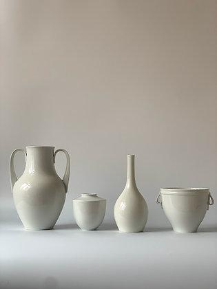 Set of Four Pieces of KPM Pottery