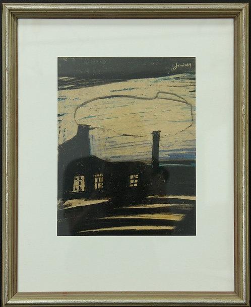 'Factory', Pastel, 20th Century