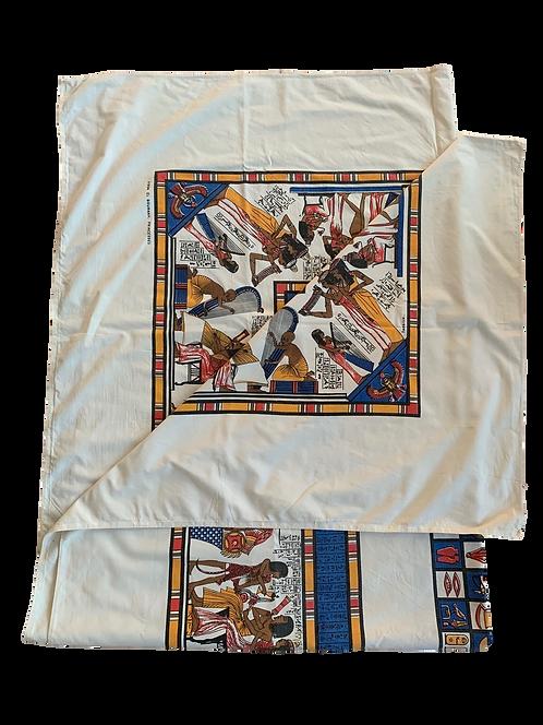Vintage Egyptian Tablecloth