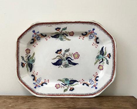 Antique Samuel Alcock Malo Platter