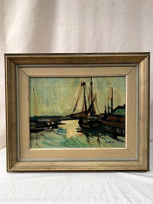 'Harbour Motif' by Bertil Gadö