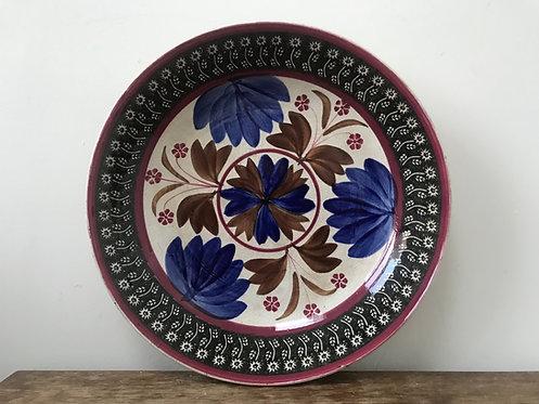 Antique Spongeware Bowl