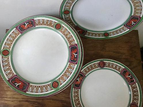 Minton Antique Pattern Set of 15 Plates