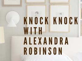 Knock-Knock with Alexandra Robinson