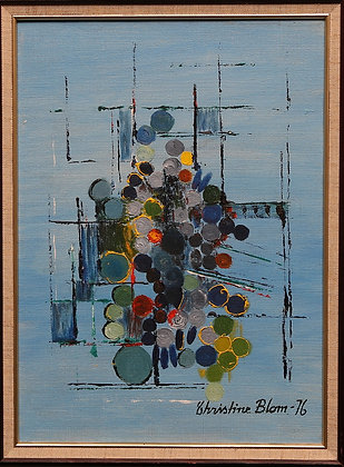 Framed Oil Painting, Unknown Artist,'79