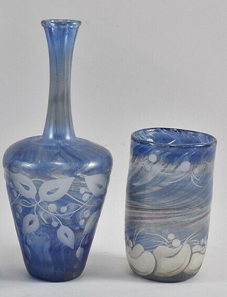 Two Pieces of Art Glass, Early 20th Century