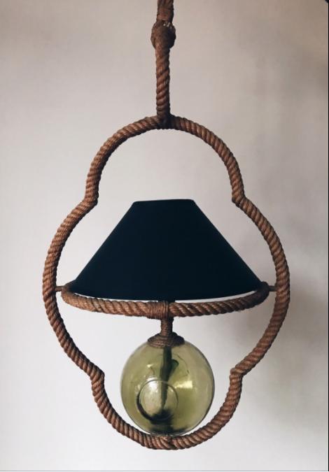 Pendant lamp Audoux and Minet design