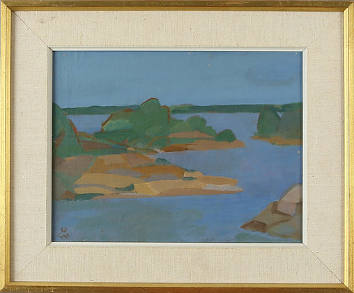 Oil Painting Archipelago by Ulf Wikström