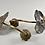 Thumbnail: Art Nouveau Brass Sconces