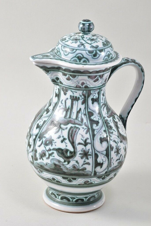 Lidded German Jug