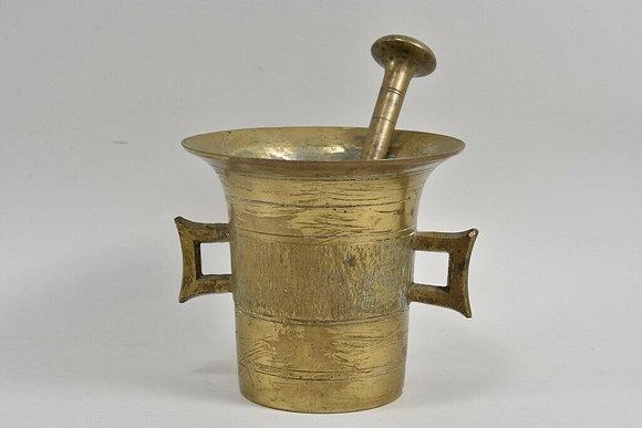 Brass Pestle & Mortar