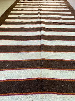 Flat Weave Woollen Kilim, Hand Woven