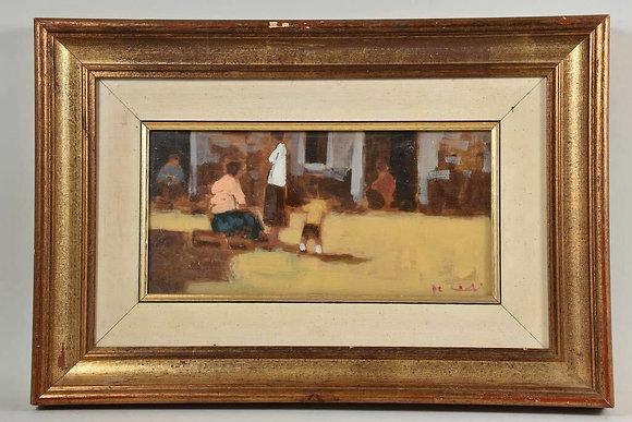 20th Century Framed Oil Painting