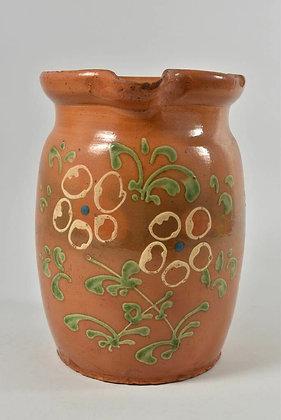 Decorative Ceramic Jug, German