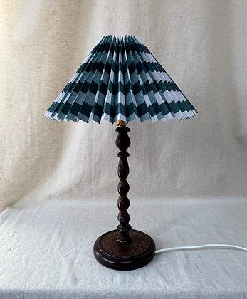 Barley Twist Wooden Lamp