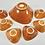 Thumbnail: Mixed lot of ceramic bowls with running glaze