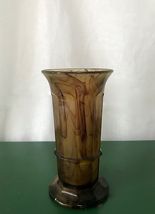 Art Deco Davidson Cloud Column Vase