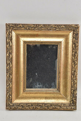 Mirror In Gilded Wooden Frame