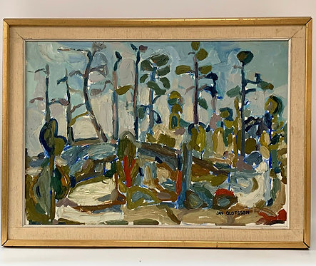 Jan Olofsson, forest composition, around 1960