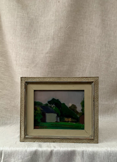 Framed Oil by Gustaf Adolf Johansson