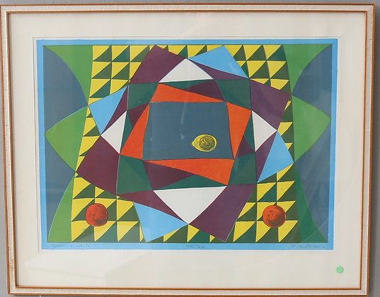 Framed Lithograph, by Bengt Ericson, Signed
