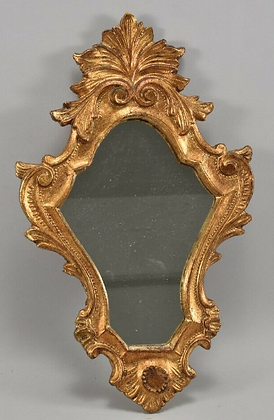 20th Century Gold Mirror