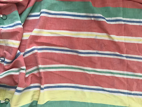 Vintage Stripe Curtain, c1930