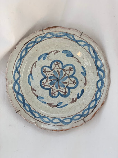 19th Century German Wall Plate