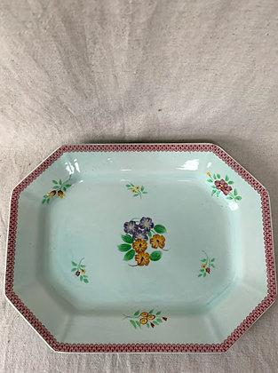 Adams Calyx Ware Hand Painted Serving Platter
