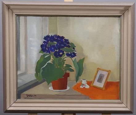 Framed Oil Painting, '44, Signed Jason