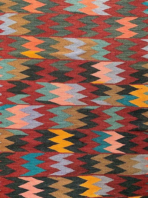 Hand Woven Rug From Azerbaijan