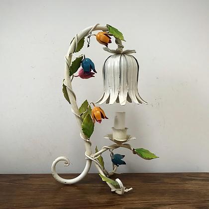 Mid Century Italian Toleware Lamp