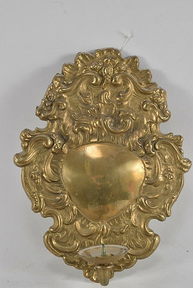 Baroque Style, 20th Century Brass Sconce
