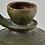 Thumbnail: Green Ceramic Bottle, 19th Century, German