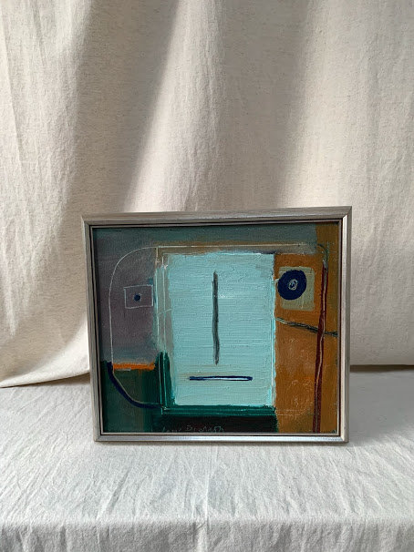 Framed Oil Painting by Lasse Persson