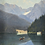 Thumbnail: Oil Painting With Lake & Boat, 20th Century