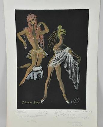 Watercolour Costume Design, 1964