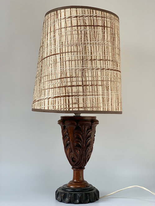 Decorative 20th Century Lamp With Shade