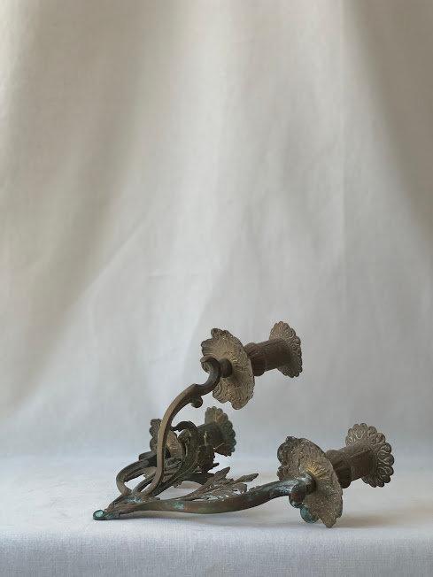 Iron Candleholder