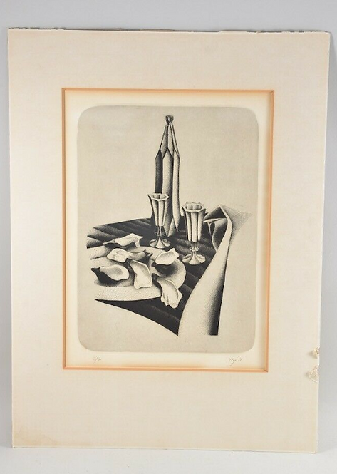 Artist Print Hand Signed, '68