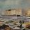 Thumbnail: Framed Oil, Southern Harbour Scene, Hans Ripa
