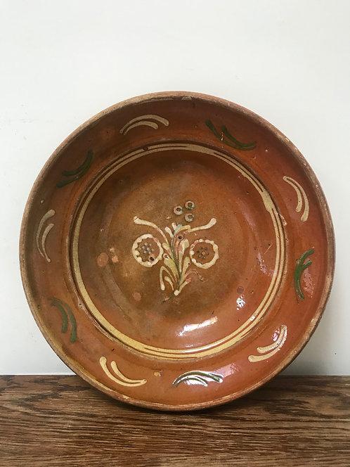 Large Hafnerware Plate.