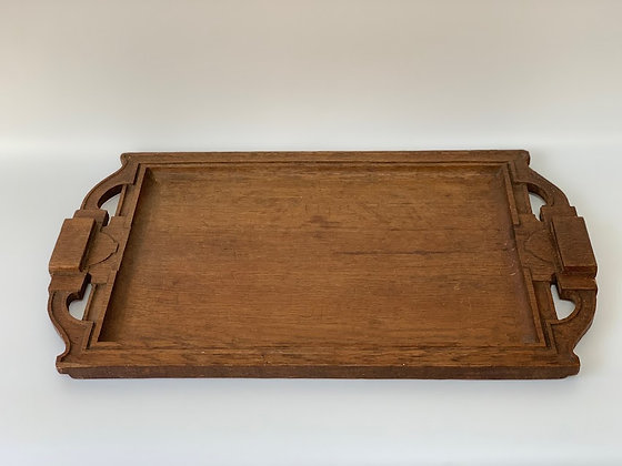 Arts & Crafts Wooden Tray